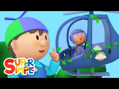 Thumbnail: Hector's Helicopter | Carl's Car Wash Ep.6 | Cartoon for kids