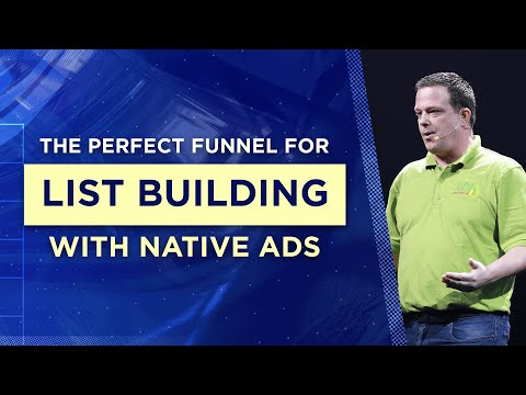 The Perfect Sales Funnel for List Building with Native Ads | Joe Burton, AWasia 2019