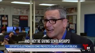 NASEF on Telemundo 51: High School Esports Pilot Program in Miami-Dade County, Florida