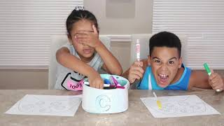 3 Marker Challenge Best Moments | Doctor, SpongeBob, Fortnite | FamousTubeKIDS