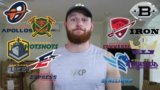 Rugby Player Learns About The AAF Alliance of American Football!
