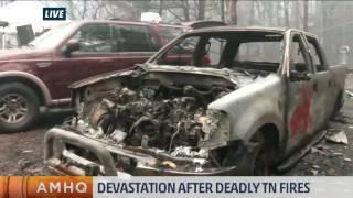 Devastation After Deadly Fires