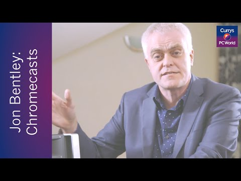 Jon Bentley reviews the Google Chromecast | Currys PC World