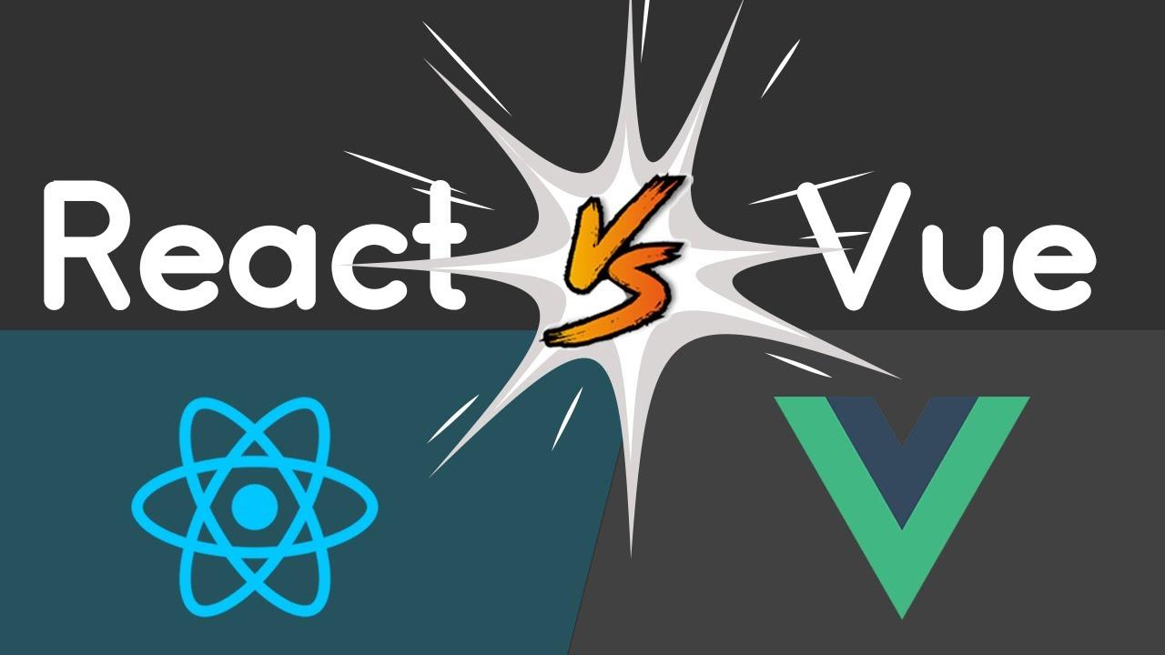 React vs Vue:  React Props And Children vs Vue.js Slots And Props! | React vs Vue 2021 Edition!