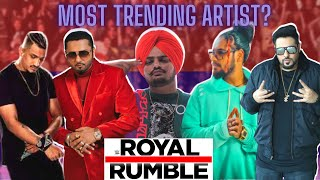 WHO IS THE MOST TRENDING DESI HIP HOP ARTIST? ft. @Sidhu Moose Wala @Yo Yo Honey Singhand more...