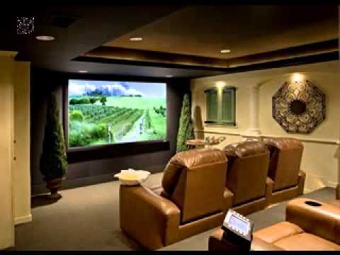 Home theater lighting ideas - YouTube
