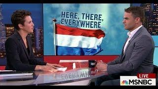 RTL correspondent on Dutch elections, on Rachel Maddow