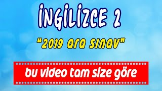 """AÖF ingilizce-2 -- 2019 ARA SINAV --  hızlı konu anlarım videosu. """"Be going to"""" www.akademiaof.com"""