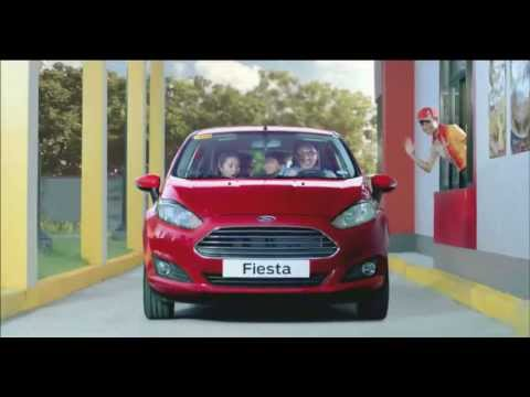 Drive Thru in Jollibee, Drive Thru a Ford Promo