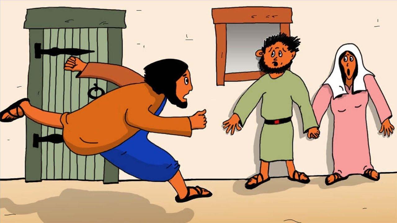 Jesus och Jairus dotter.