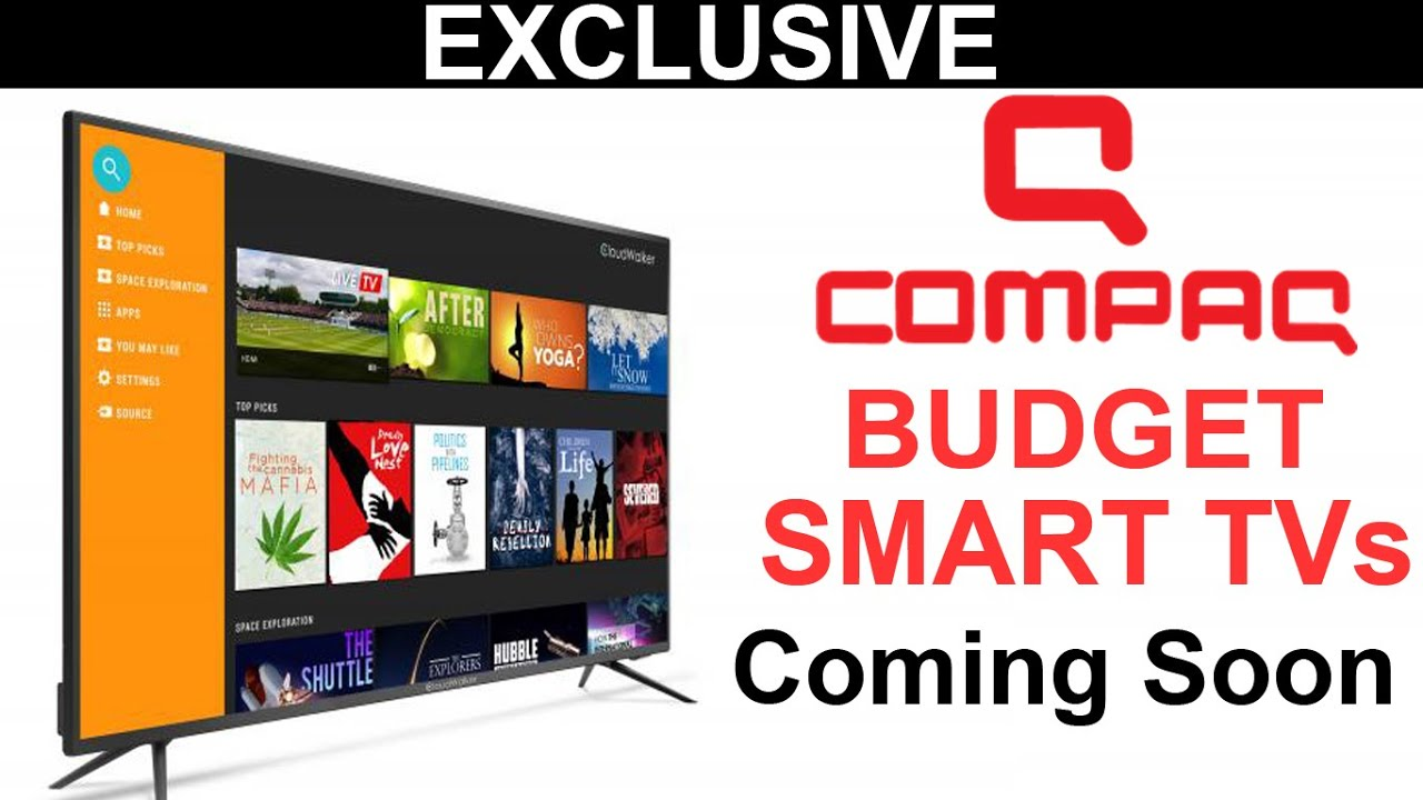 Compaq Smart TVs | Budget Smart TVs | #CompaqTv #CompacSmartTV - YouTube