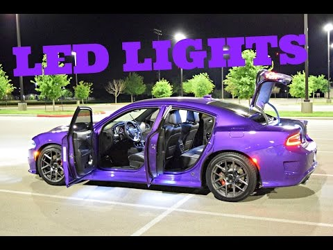 2016 Dodge Charger Scat Pack Exterior/Interior Lights - Diode Dynamics LED's