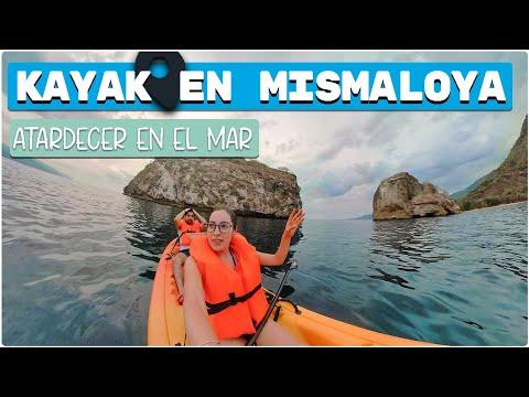 KAYAK en PUERTO VALLARTA! 4K   ATARCEDER en MISMALOYA: 😍   Isla DIABLO!   Diana y Aaron (DyA)