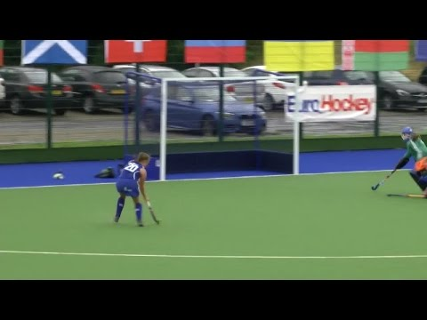 Hannah McKie hits the post for Scotland U18 Girls!