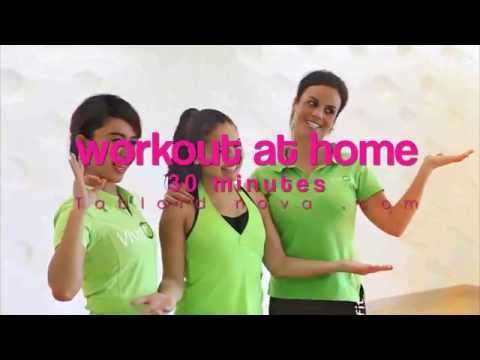 30 minutes interval training workout at home by Vivafit Indonesia