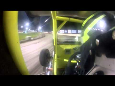 Jake Bubak URSS Heat Race Dodge City Raceway Park 9/29/2012