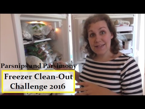 Freezer Clean Out Challenge 2016-Step 1