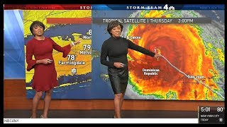 Janice Huff NBC4 precision radar Y 2017 Hurricane Maria