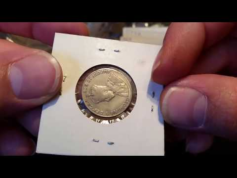 Unboxing An EBay Purchase - Lot Of Canadian Coins