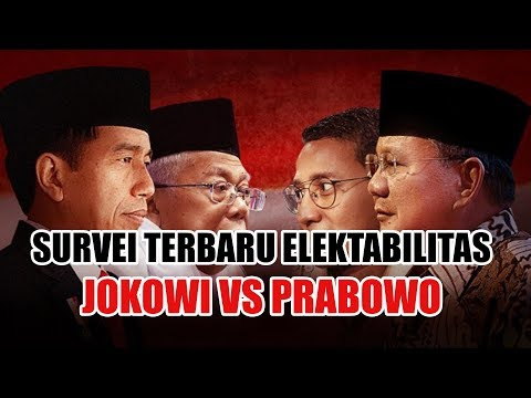 TERBARU - Survei Elektabilitas Jokowi vs Prabowo, Prabowo Unggul Tipis dalam Trend of Awareness