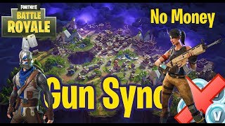 Gun Sync || No Money in Fortnite (Original: No Money - Galantis)