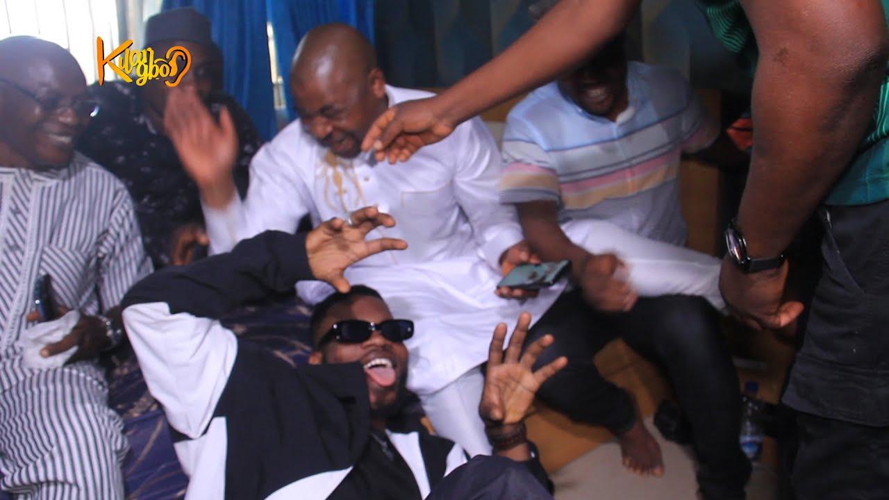 Broda shaggi surprises MC Oluomo// sings on his 45th birthday   KILARIGBO LIVE