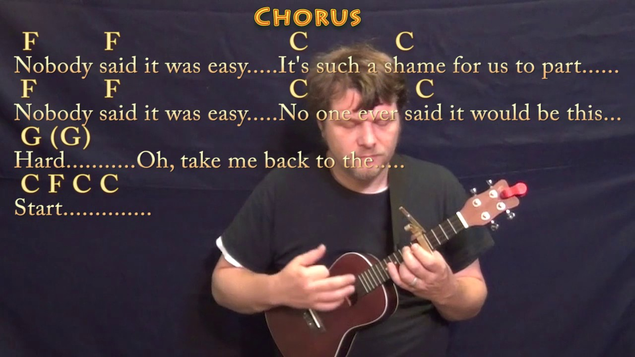 The Scientist Coldplay Ukulele Cover Lesson With Chordslyrics
