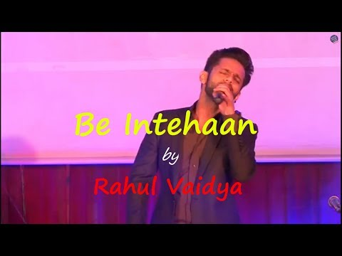 Rahul Vaidya Tera Intezar Video Song Free Download