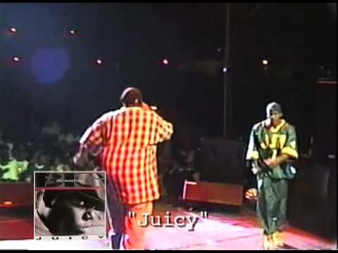 Biggie Smalls- Juicy live exclusive from Rap Phenomenon DVD