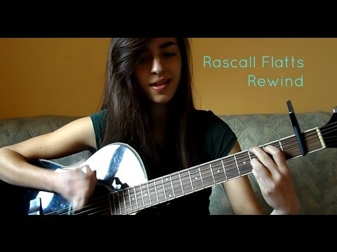 Rascal Flatts - Rewind. Acoustic Guitar Tutorial.