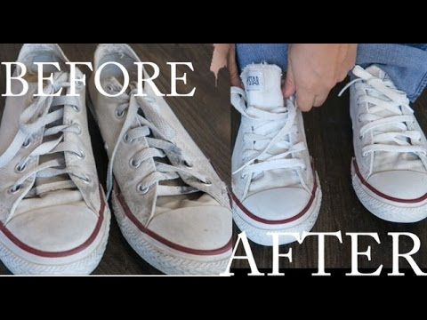 Life Hack Make You Re Shoes White Again Leticia