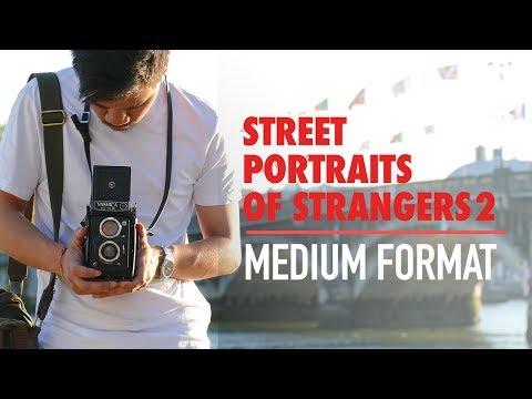 ODOF #20 | Street Portraits of Strangers (2) - Medium format