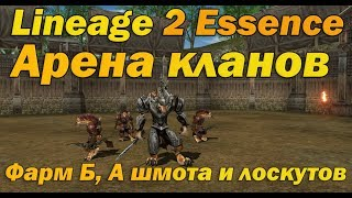 арена кланов в Lineage 2 Essence (Lineage II Aden) описание и гайд инст зоны арена кланов в л2  руоф