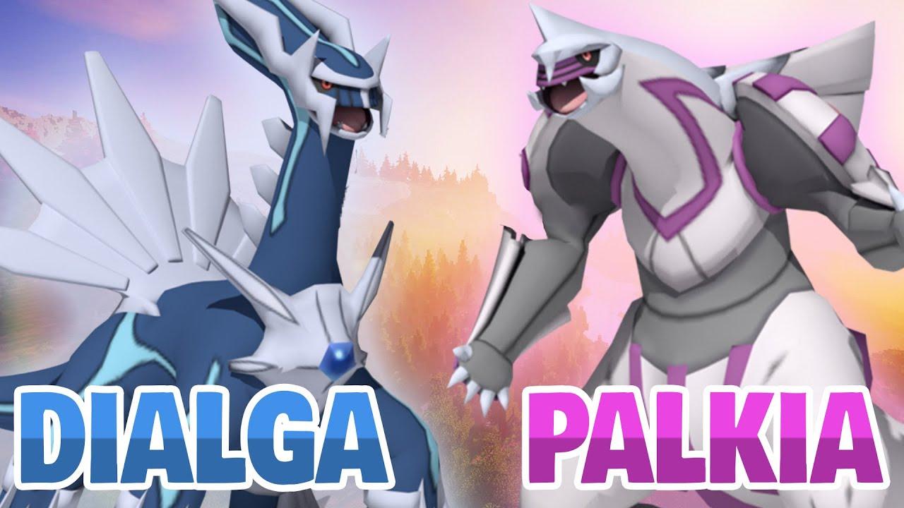 how to summon legendary palkia and dialga pixelmon