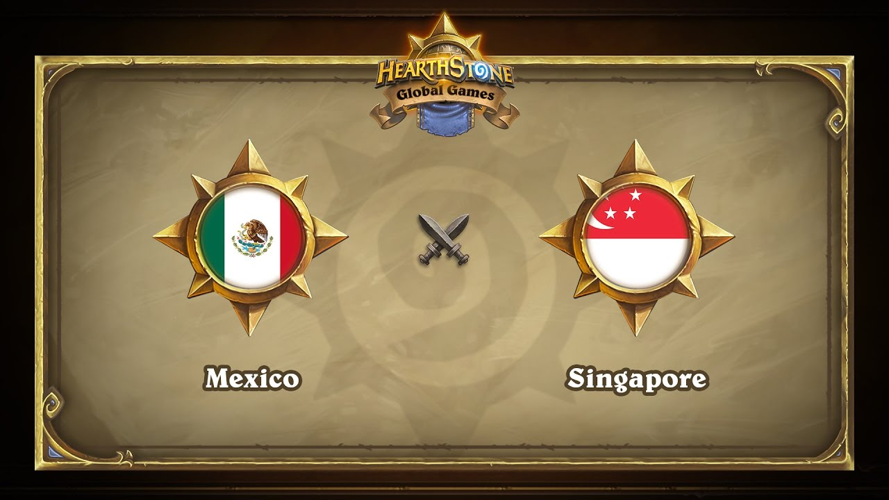 Мексика vs Сингапур | Mexico vs Singapore | Hearthstone Global Games (12.05.2017)