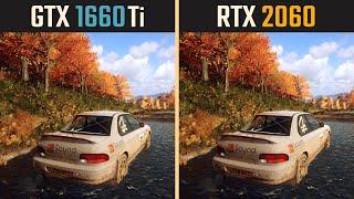 GTX 1660 Ti vs. RTX 2060 (Test in 10 Games)