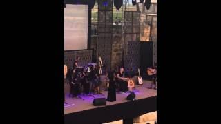 """Cabra Casay sings """"Medabrim Be sheket"""""""