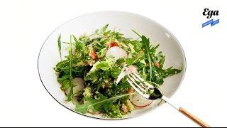 Магрибский салат с кускусом и рукколой. Спецпроект «Салаты для начала весны»