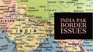 Major India pak border disputes UPSC : IAS Geography