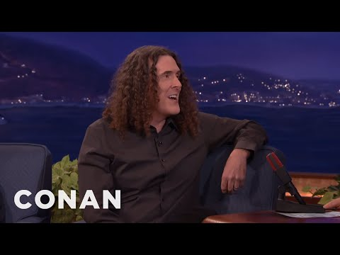"""Weird Al"" Yankovic: Meeting Michael Jackson Was Like An Alien Encounter  - CONAN on TBS"