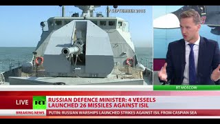 Cruise missile attack from Caspian sea - Russian Navy fires on ISIS