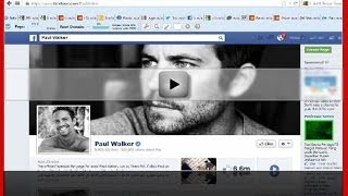 Paul Walker Dead Killed In A Car Crash Accident - FB Status Update