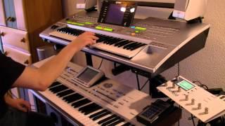 Lambada Piano Cover with (Korg PA2x & Yamaha Tryos 3)