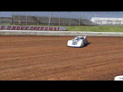 Wheelin the Jackie Boggs 4B at Williams Grove Speedway