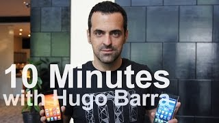 10 minutes with Hugo Barra Thumbnail