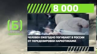 Сколько человек ежегодно погибают в России от наркотиков?