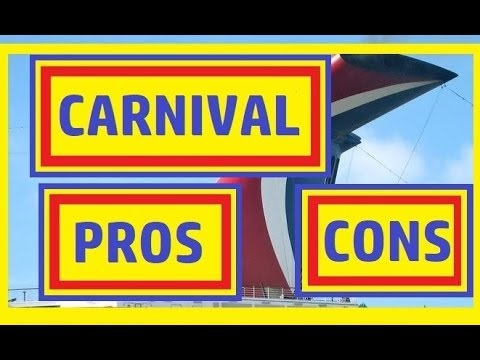 Carnival Cruise Line PROS & CONS - 2018
