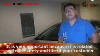 G-scan ACU Variant Coding function on a Hyundai Grandeur/Azera 2012