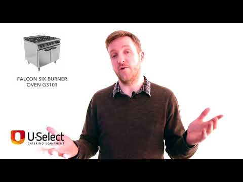 U-Select Catering Equipment Review - Falcon Six Burner G3101