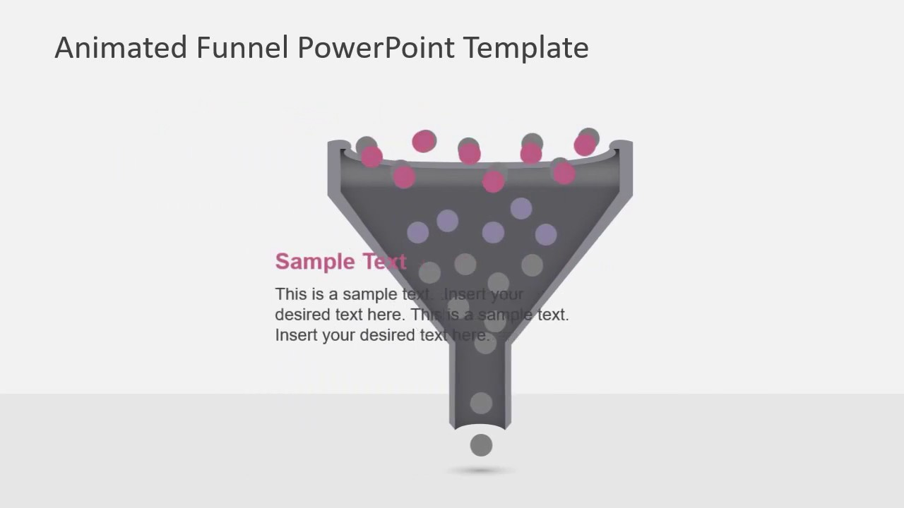 Animated Funnel Diagram for PowerPoint - YouTube